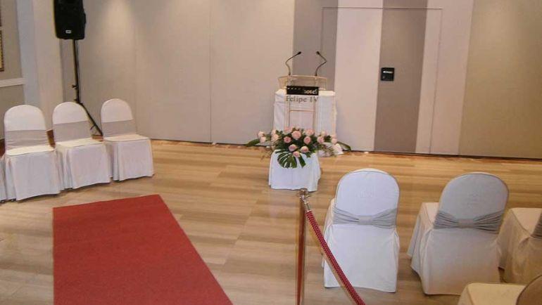 Plano de situación de invitados en salón