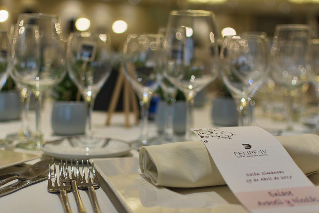Tarjeta de menú para invitados